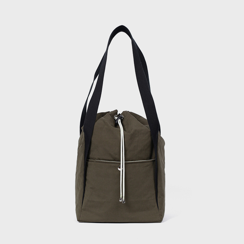 [IHM x mazi untitled] Alike bag(khaki)