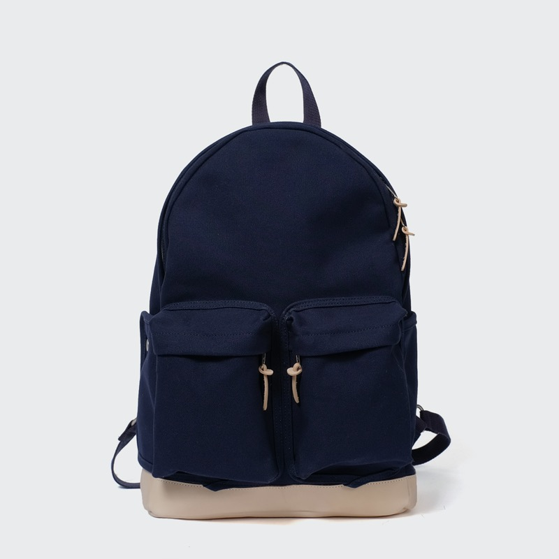 all-day back canvas(navy)