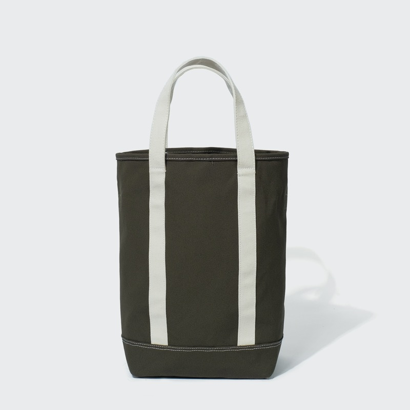 grocery tote bag(khaki)