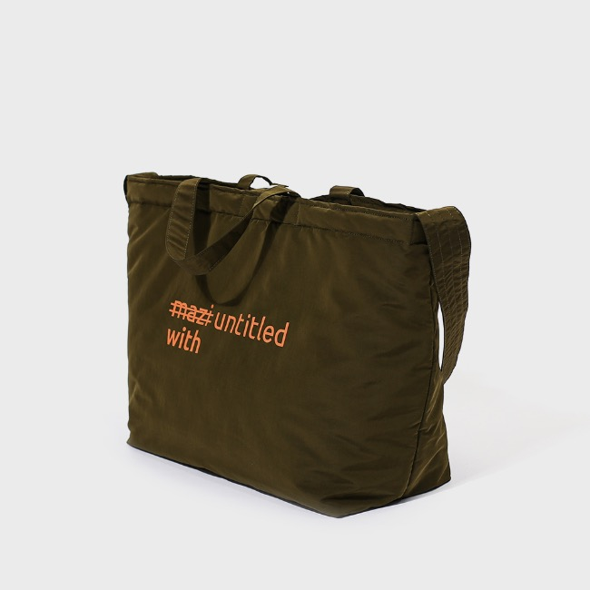 with bag(khaki)