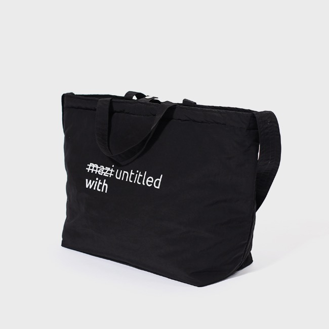 with bag(black)