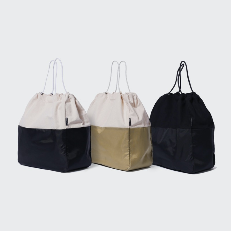[BLANKROOM x mazi untitled]beany bag(ecru/beige/black)