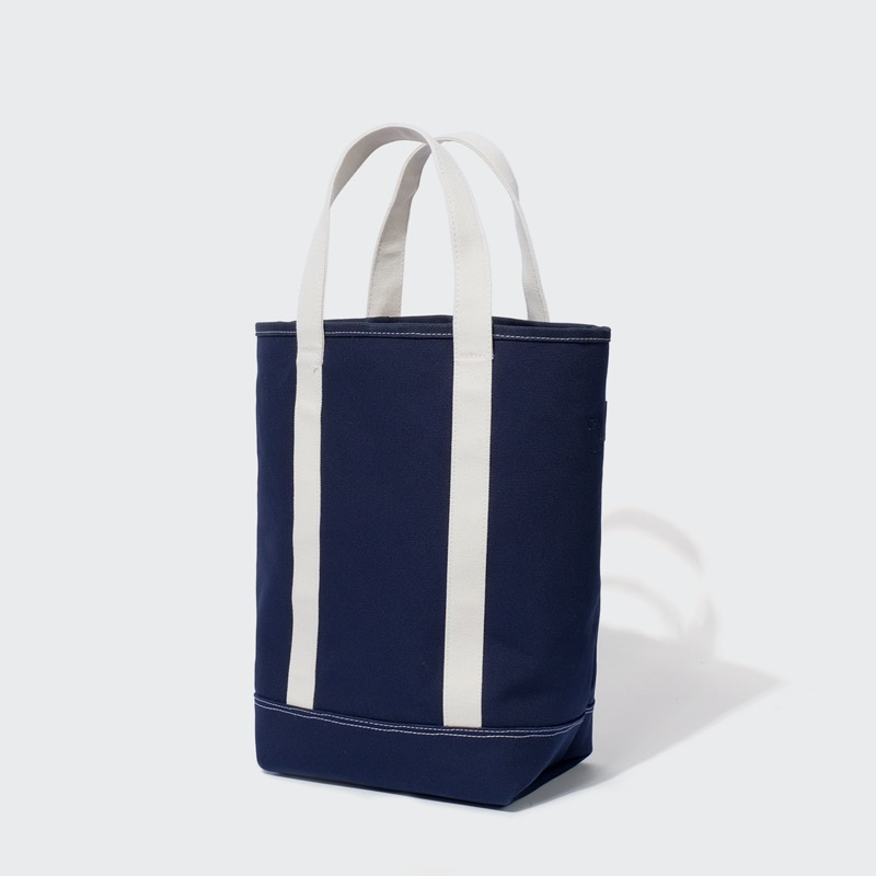 grocery tote bag(navy)